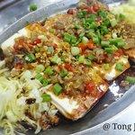 Shrimp toufu