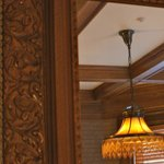 Rarewood & Antique Light fixtures