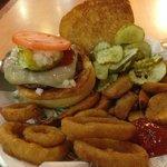 Buffalo Burger @ Fuddruckers, 50 Walkers Brook Dr., Reading, MA