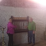 Nancy and Ty ringing the Shandon bell's