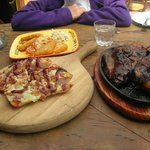 ribs n pizza..dun forget the beer