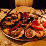 Raw Seafood Plateau
