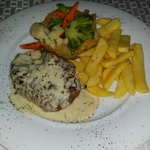 Steak and cheese sauce