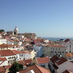 View from the highest point in Lisbon
