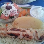$11.95 Chicken Souvlaki lunch
