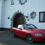 Ruby at Breagle Glen Port Erin