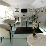 1st floor Lounge with glass floor!