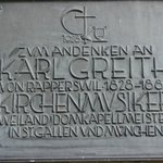 Plaque at the church entrance