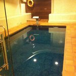 Entrance indoor swimming pool