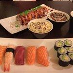 Le comble du raffinement venir au samouraï sushis un samedi soir avec son mari, simplement divin