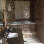 Mediterranean suite bathroom!