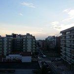 Вид из номера на город. 5 этаж