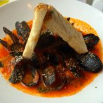 Cozze Fra Diavolo - Mussels in spicy tomato sauce