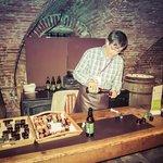 Cellar beer sampling
