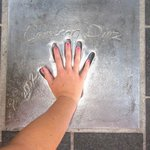 Cameron Diaz handprint at Cannes Film Festival venue