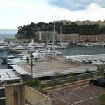 Monaco harbourside