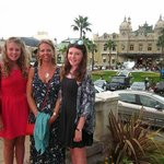Chappers family at Monte Carlo Casino