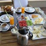 Fantastic breakfast at Sandima 37