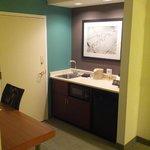 Sink, Fridge, Microwave