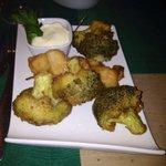 Cavolfiori in tempura...