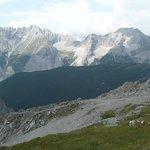 view from Innsbrucker Nordkettenbahnen