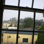 vista del castillo, desde la habitación
