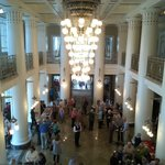 the lobby to the symphony center