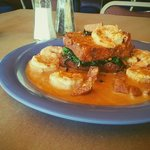 Come and enjoy our new Shrimp & Grits dish!