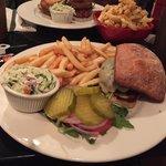 The slice dinner burger