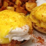 Eggs Benny - Medford Sq. Diner 10.4.14