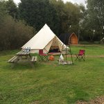 Fab campsite with lovely owners