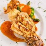 Broiled Caribbean rock Lobster