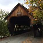 Covered Bridge in Woodstock
