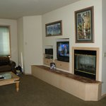 TV & Fireplace in Living Room