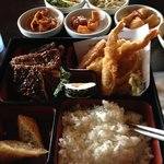 Bento Box with Kalbi and side dishes