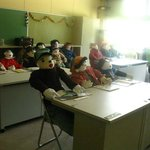 Inside classroom 1