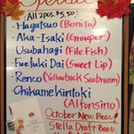 Great sushi specials!!