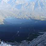 View from the top of Zugspitze