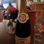 Good choice of champagnes on the menu.