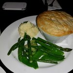 Steak and kidney pie, stunning