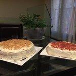 Red Velvet & Carrot cakes!