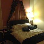 The bedroom with en suite bathroom & walk in wardrobe