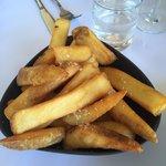 Gigantic, delicious fries.