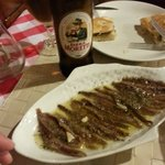 Anchovies just delicious
