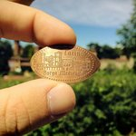 Un penny souvenir del Borgo Medievale