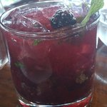 Belvedere and Blackberry Mojito