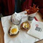 Add an egg as an optional topping