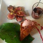 Dessert de saison ( figues ) délicieux
