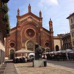 Milano: Chiesa Santa Maria del Carmine.
