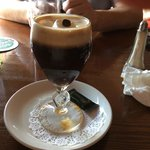 Irish Coffee - might look good but it was not!